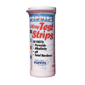 Poppit test strips for peroxsil 395